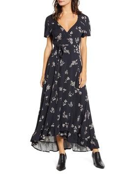 azalea-floral-print-wrap-maxi-dress by lira-clothing