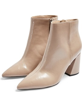 hackney-point-bootie by topshop