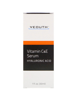 Yeouth, Vitamin C &Amp; E Serum With Hyaluronic Acid, 1 Fl Oz (30 Ml) by Yeouth