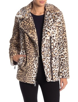 leopard-print-faux-fur-zip-jacket by bcbgeneration