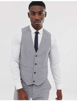 asos-design-skinny-suit-in-mid-gray by asos