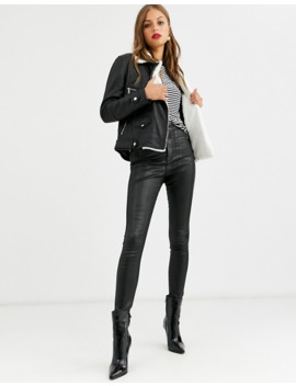 lab-leather-oversized-biker-jacket-with-faux-fur-internal by lab