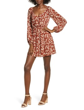 sweetheart-long-sleeve-minidress by all-in-favor