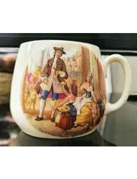 "vintage-bone-china-barrel-coffee-mug,-cries-of-london-""primroses-yellow-primroses""-coffee_tea-mug-made-in-englandg by etsy"