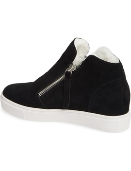 caliber-faux-fur-lined-sneaker by steve-madden