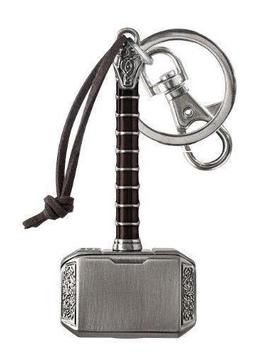 Thor's Hammer (Mjolnir) Pewter Key Ring by Fye