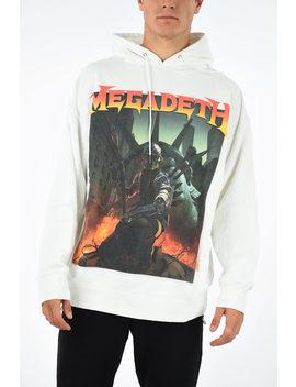 Hooded Megadeth Sweatshirt by R13