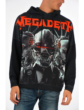 Hooded Megadeth Cyberbot Sweatshirt by R13