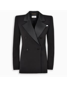 Tuxedo Wool Blazer by Saint Laurent