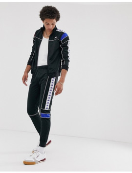 kappa-222-banda-mems-slim-track-pants-in-black by kappa