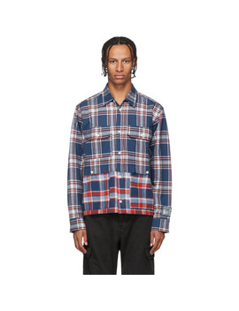 blue-&-red-double-layered-flannel-shirt by reese-cooper