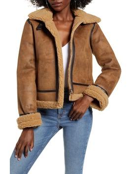 faux-shearling-coat by joa