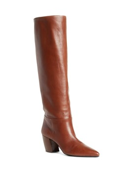 tall-pointy-toe-boot by prada