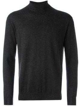 fine-knit-roll-neck-sweater by npeal