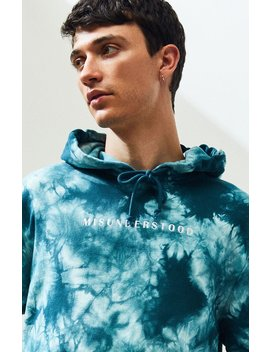 pacsun-misunderstood-tie-dyed-pullover-hoodie by pacsun