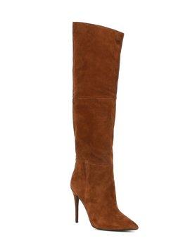 dakota-suede-slouchy-stiletto-boots by steve-madden