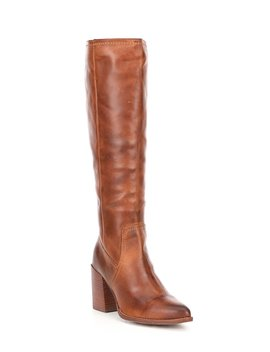 true-do-leather-tall-stovepipe-block-heel-boots by diba-true
