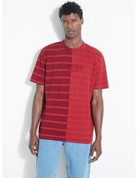 Guess Originals Spliced Stripe Tee by Guess