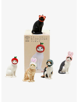 kitan-club-cats-in-caps-blind-box-figure by hot-topic