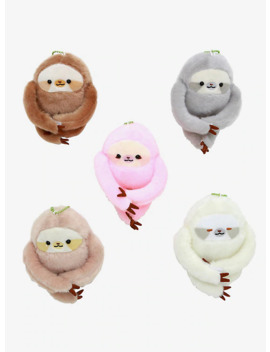 friendly-sloth-assorted-blind-plush by hot-topic