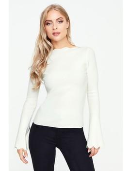 fashion-union-scallop-edge-jumper by next