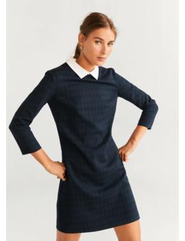 check-short-dress by mango