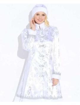snegurochka-russian-dress-snow-maiden-russian-costume-women-kokoshnik-russian-clothing-winter-traditional-folk-dress-halloween-new-year-wear by etsy