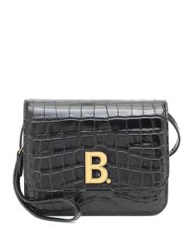 b-small-croc-effect-shoulder-bag by balenciaga