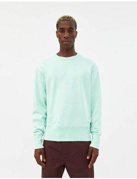 fayze-crewneck-sweatshirt-in-pastel-green by acne-studiosacne-studios