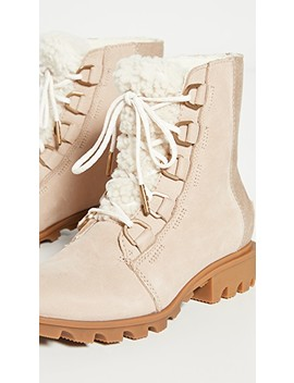 phoenix-short-lace-up-lux-boots by sorel