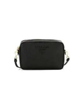 monochrome-leather-camera-bag by prada