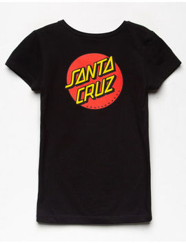 Santa Cruz Other Dot Red Girls Tee by Santa Cruz