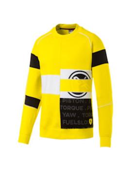 Scuderia Ferrari Street Men's Crewneck Sweatshirt by Puma