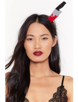 something-wicked-knife-headband by nasty-gal