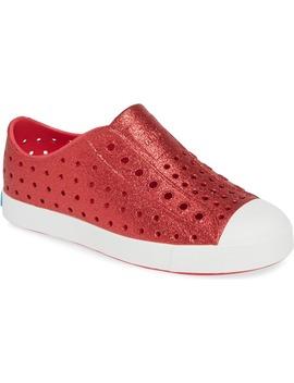 jefferson-bling-glitter-slip-on-vegan-sneaker by native-shoes