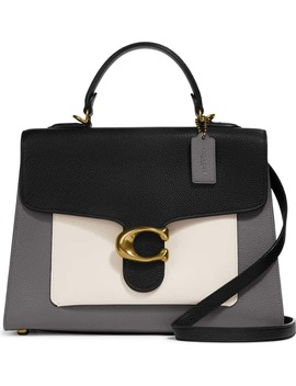 tabby-colorblock-leather-top-handle-bag by coach