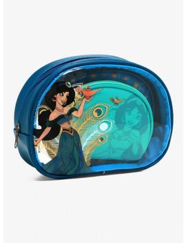 loungefly-disney-aladdin-jasmine-makeup-bag-set by hot-topic