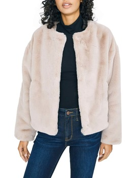 starry-night-faux-fur-jacket by sanctuary