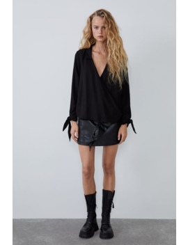 crossed-shirt-with-bows by zara