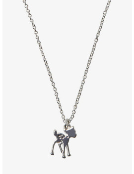 disney-bambi-dainty-charm-necklace by hot-topic