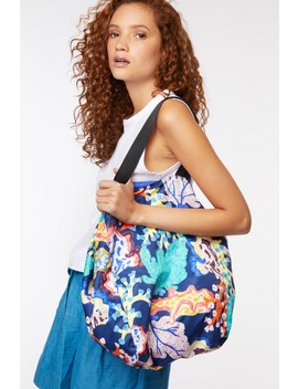 floral-coral-tote by gorman