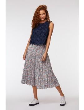 Mini Terazzo Pleat Skirt by Gorman