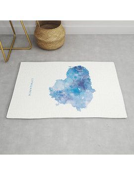 lithuania-rug by society6
