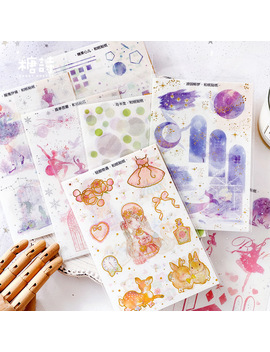 3-pcs_pack-honey-sweet-gilding-decorative-stickers-adhesive-stickers-diy-decoration-diary-stationery-stickers-children-gift by aliexpresscom