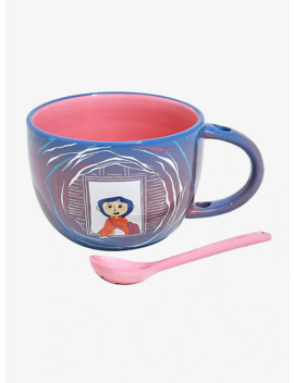 coraline-soup-mug-&-spoon by hot-topic