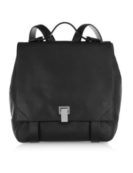 courier-textured-leather-backpack by proenza-schouler