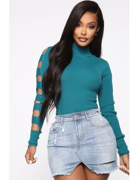 never-out-of-style-ribbed-sweater---teal by fashion-nova