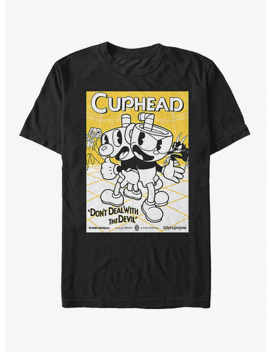 cuphead-teamwork-poster-t-shirt by hot-topic