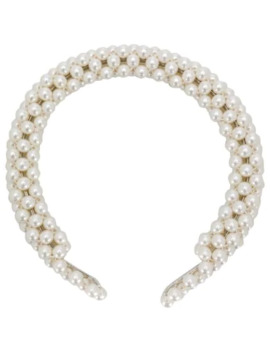 antonia-faux-pearl-headband by shrimps