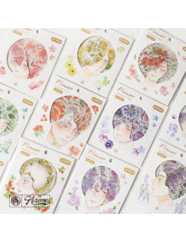 gilding-flower-herb-series-decorative-stickers-adhesive-stickers-diy-decoration-diary-stationery-stickers-children-gift by aliexpresscom